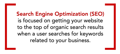define search engine optimization