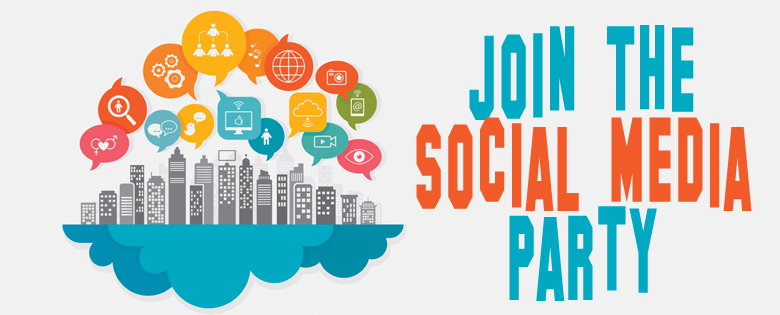 join the social media party