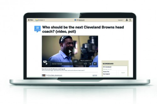 video display ad