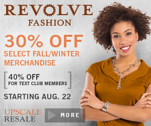revolve fashion display ad