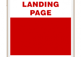 mobile landing page