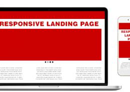 responsive landing page