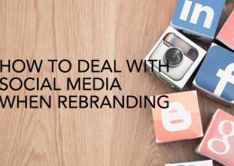 social media rebranding