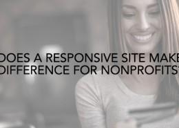 responsive site nonprofits