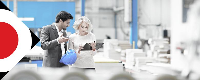 manufacturing social media