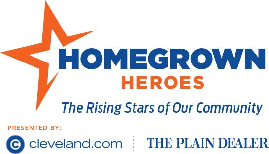 Homegrown Heroes Graphic with cleveland.com and The Plain Dealer